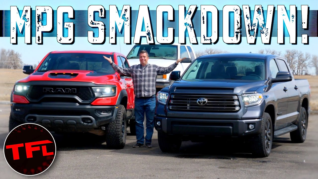 TRX vs Tundra MPG Shocker: You'll Be Surprised to See Which Truck Uses More Gas Towing!
