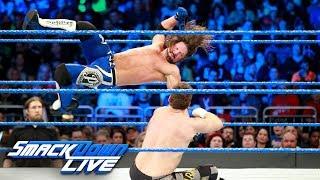 WWE Champion AJ Styles vs. Sami Zayn: SmackDown LIVE, Jan. 2, 2018