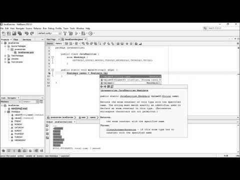 Java Programming Tutorial enum part01 (Basic)