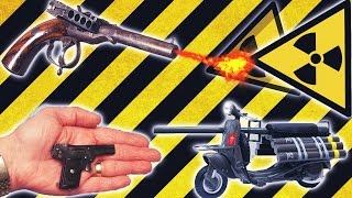 Top 7 Strangest Weapons (bizarre/forgotten Weapons)