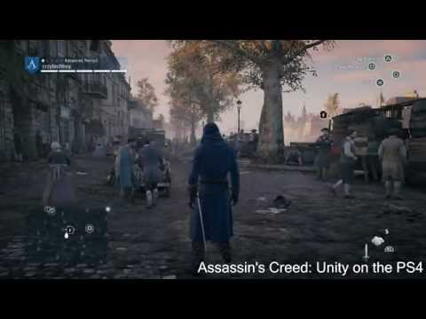 Assassin's Creed Unity vs. Black Flag PS4 Comparison