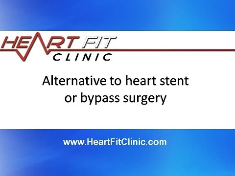 Alternative to heart stent or bypass surgery