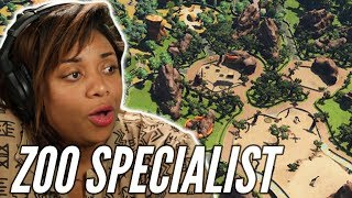 Zoo Specialist Builds Her Ideal Zoo In Zoo Tycoon • Professionals Play