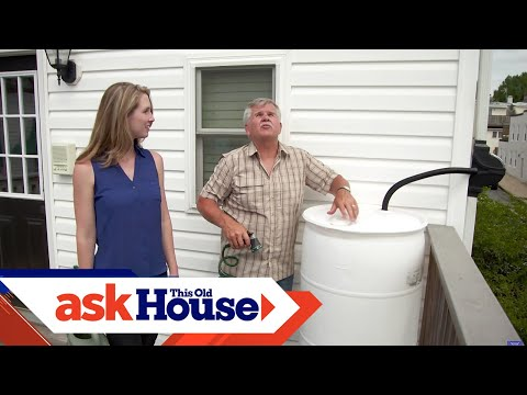 How to Build a Rain Barrel for $40