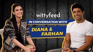 In Conversation with Diana Penty and Farhan Akhtar || WittyFeed || Lucknow Central