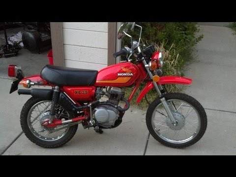 Honda XL75 Best Pit Bike / Mini Motorcycle Bike in the World and Street Road Legal