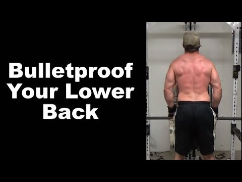 Bulletproof Your Lower Back With Kneeling Dumbbell Deadlift Lockouts