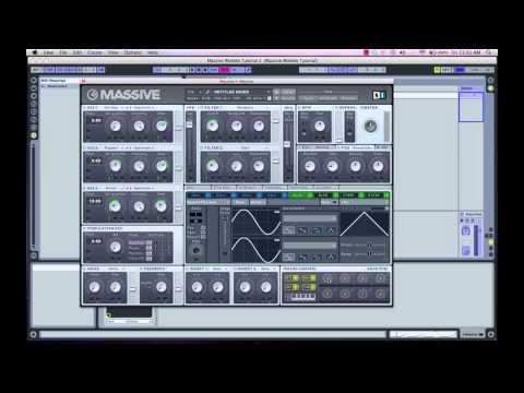 Make Dubstep Wobble Bass in Massive: HD tutorial pt 2 of 2