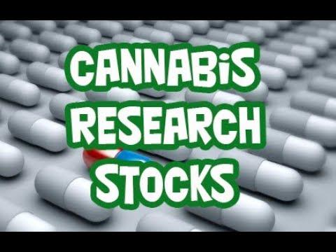 5 Medical Marijuana Research Stocks To Watch 2017 & 2018