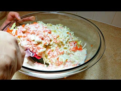 How to Make Coleslaw - Homemade Coleslaw Recipe