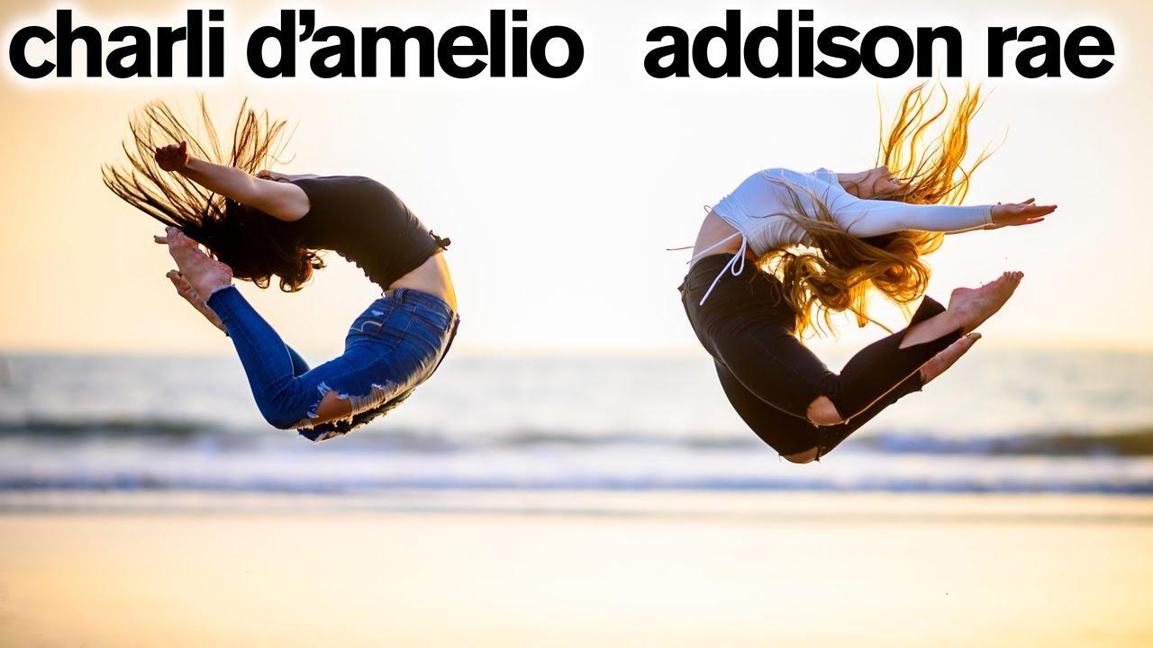 Charli D'Amelio and Hype House Stars CRASH FANS TIKTOKS *ft. Addison Rae*