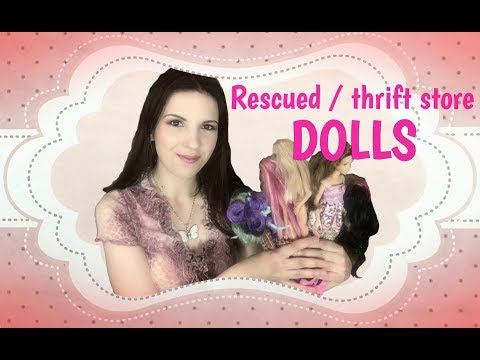 THRIFT STORE and RESCUED DOLLS #47  ~  Pre-owned / second-hand Barbie, Equestria Girls and Disney