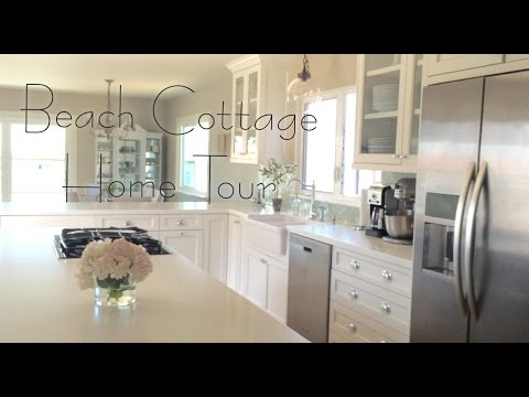 Beach Cottage Home Tour // Before & After!