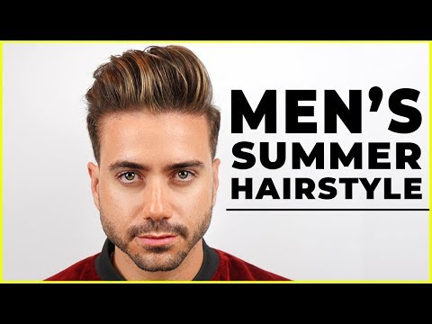 MEN'S SUMMER HAIRSTYLE 2018 | Best Men's Haircut Highlights | ALEX COSTA