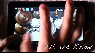 All we know - The Chainsmokers (Real Drum) by Michael Tirol