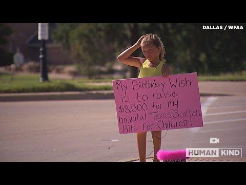 Hospital that fixed girl's backwards knees gets huge gift