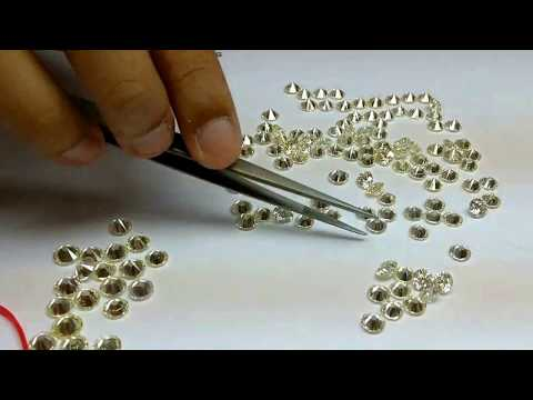 Diamond parcel assorting of SI IJ quality for bangle and necklace, how to buy best at wholesale rate