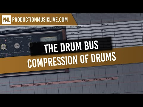 Compression of Drums - Drum Bus / Mixing and Mastering Masterclass