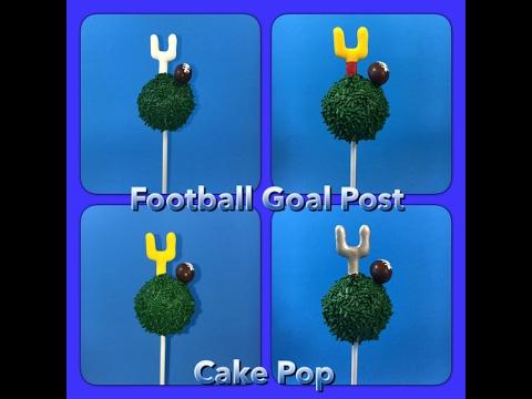 How to make a Football Cake Pop