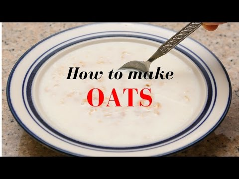 How to make oats IN HINDI with English subtitles