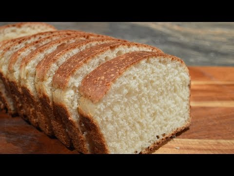 Homemade White Bread - Easy Sandwich Bread Recipe