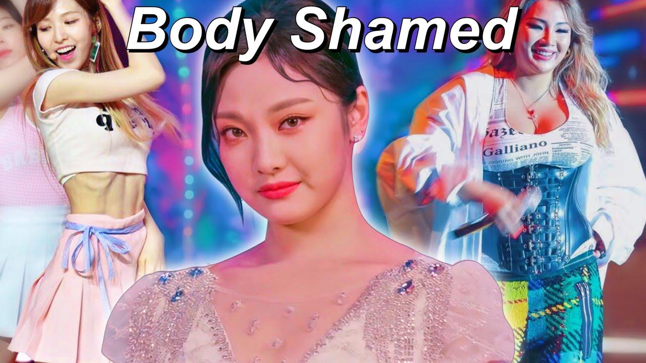 Kpop Idols Who Were Body Shamed