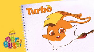SUNNY BUNNIES   Drawing Turbo 3   GET BUSY COMPILATION   Arts & Crafts   Cartoons for Kids