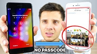 How To Unlock ANY iPhone Photos Without Passcode! (iOS 11)
