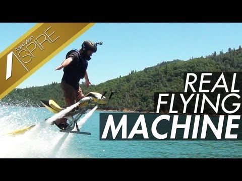 Fly A Real Life Jet Pack And Flying Machine