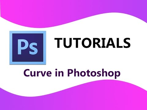 How to make a curve in Photoshop || Easiest Way || In 4 Minutes