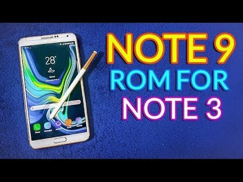 Install Galaxy Note 9 Rom on Galaxy Note 3 - PakVim net HD