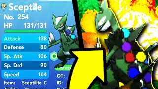 How Good Is Christmas Mega Sceptile In Pokemon Brick Bronze?