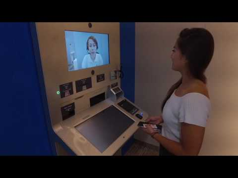 Singapore's first video teller machine by DBS/POSB - how to use