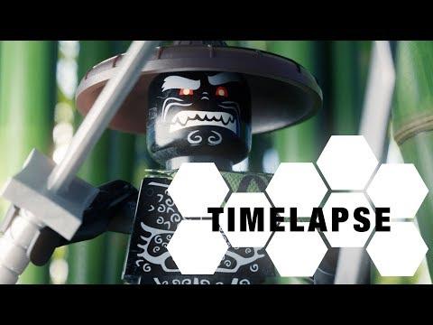 Lego Ninjago - Garmadon (Blender Timelapse)