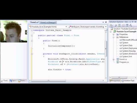 C# Export to Excel Tutorial