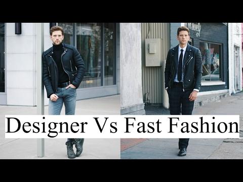 How to afford designer brands | Designer vs Fast Fashion | Zara, Topman, HM