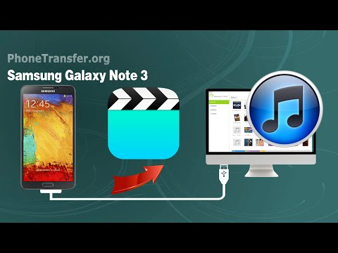 [Samsung Note 3 Videos to iTunes]: How to Sync Videos from Samsung Galaxy Note 3 to iTunes on Mac