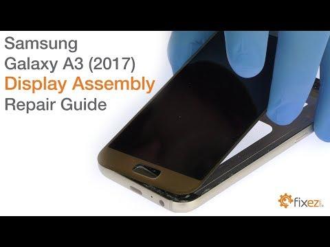 Samsung Galaxy A3 2017 Display Assembly Repair Guide
