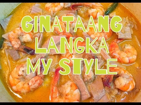 Ginataang Langka My Style