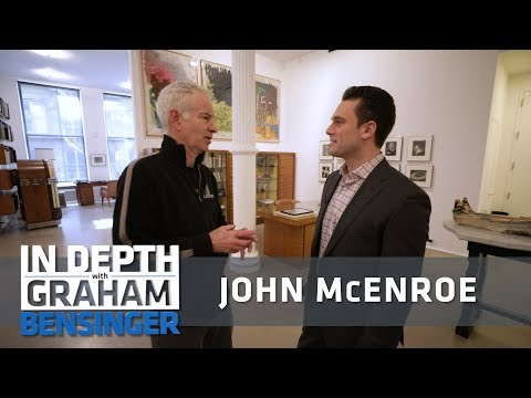 John McEnroe: Tour of my art gallery