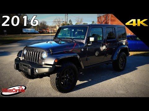 2016 Jeep Wrangler Unlimited BACKCOUNTRY - Ultimate In-Depth Look in 4K