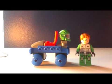 Lego space car