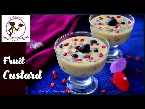 ফ্রুট কাস্টার্ড - Fruit Custard Recipe in Bengali | How to make Fruit Custard | Fruit Salad