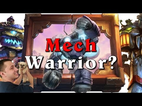 Legend Mech Warrior - The new burst Aggro is here! [Hearthstone]