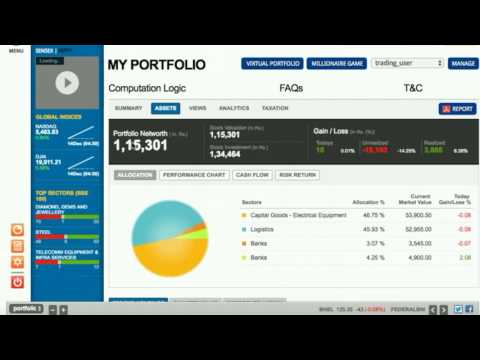 hdfc securities portfolio check complete trade share details