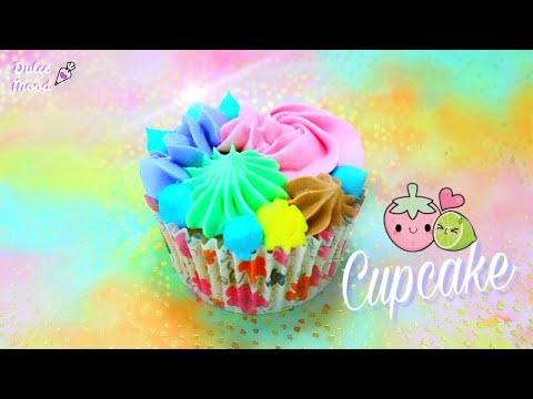 HOW TO MAKE LEMON STRAWBERRY CUPCAKES | Dulce Mood 💜
