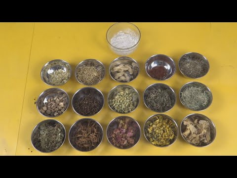 Herbal Tea Powder (ஹெர்பல் டீ பவுடர்) Part 2 | Preparation and Uses Tamil