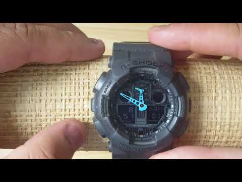 How to set Time and Calendar Casio G Shock 5081 (Analog and Digital)