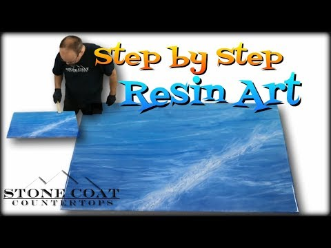 Resin Art Step by step