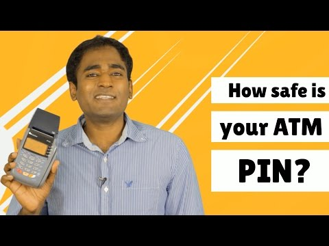 How safe is your ATM PIN?